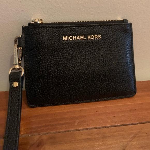 7ee51535bda6 MICHAEL Michael Kors Bags | Michael Kors Mercer Leather Coin Purse ...